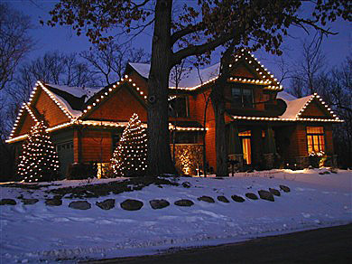 Outdoor Christmas Light Installers